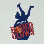 Rodeo Clown Sticker