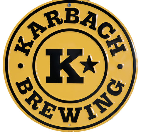 Karbach Badge Tin Tacker