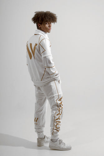 Warriör Tracksuit White