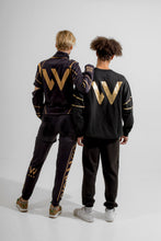 Load image into Gallery viewer, Warriör sweatpants with lazercut gold logo