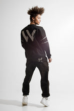 Load image into Gallery viewer, Warriör sweatshirt with lazercut reflective logo