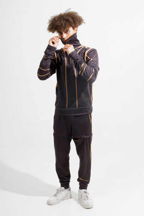 Warriör Tracksuit Black