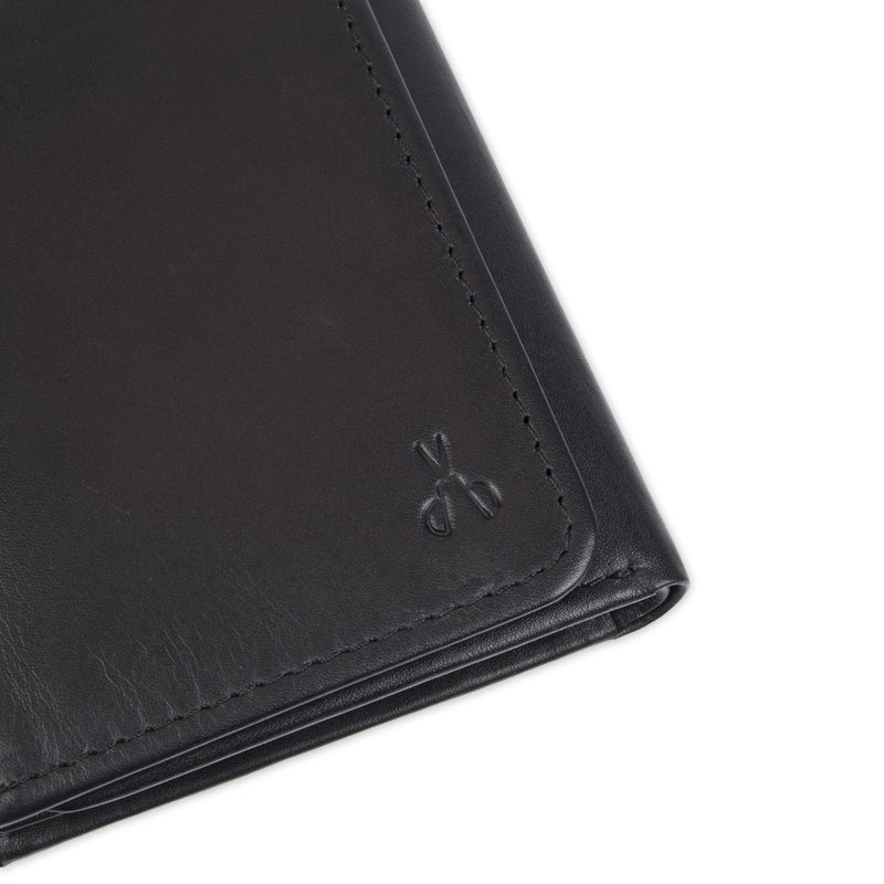 belmont extra capacity trifold wallet