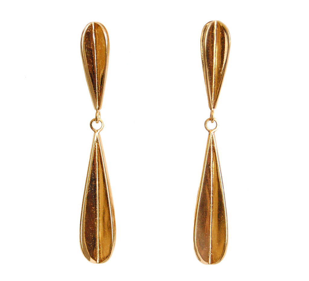 Erica Bello Pop Up Double Drop earrings