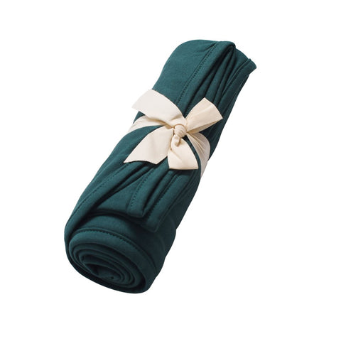 Swaddle Blanket in Emerald