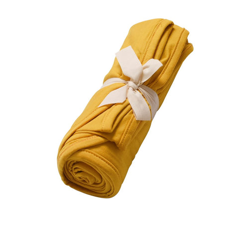Swaddle Blanket in Mustard