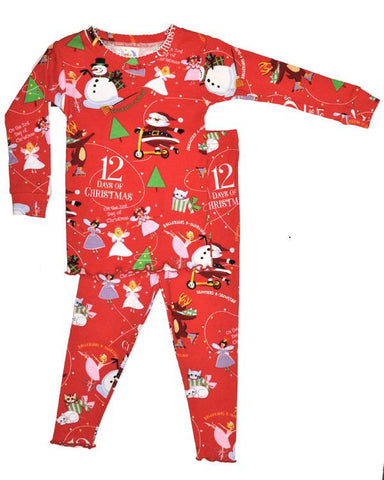 12 Days of Christmas Girls (Pajamas Only)