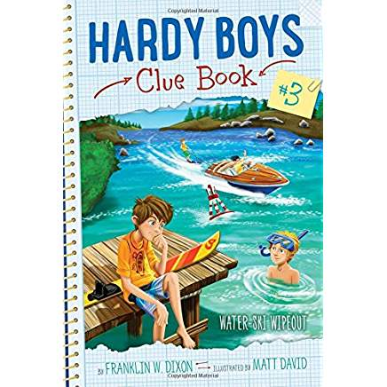 Water-Ski Wipeout (Hardy Boys Clue Book, Bk. 3)