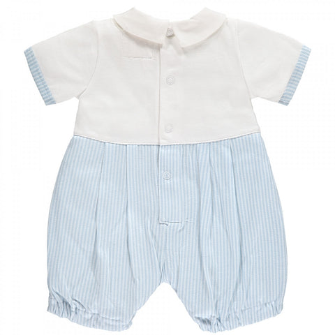 Murray Blue Striped Baby Boys Shortie