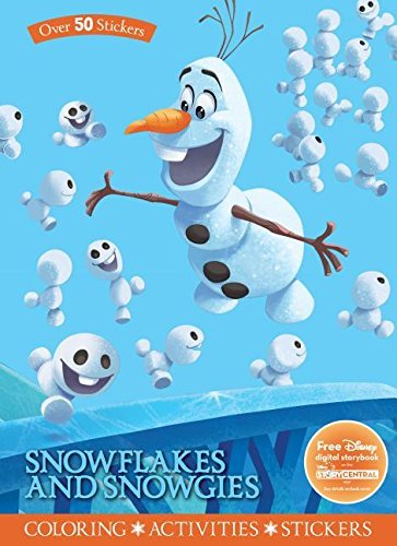 Snowflakes and Snowgies Coloring & Activity Book (Disney Frozen)
