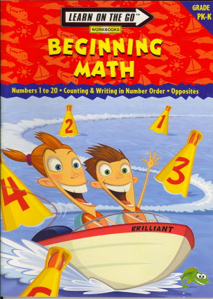 Beginning Math (Learn On The Go, PreK-K)