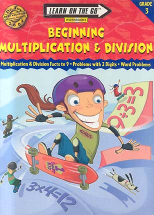 Beginning Multiplication & Division (Learn On The Go, Grade 3)