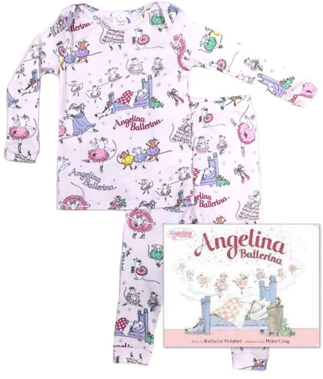 Angelina Ballerina Infants (Pajamas & Book)