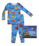 Goodnight Construction Site Infants (Pajamas & Book)
