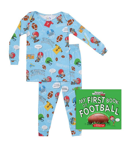 My First Book of Football Infants (Pajamas & Book)