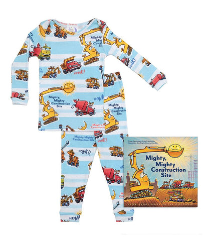 Mighty Mighty Construction Site Infants (Pajamas & Book)