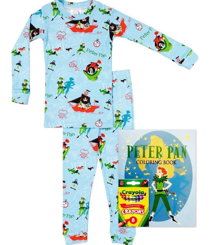 Peter Pan (Pajamas & Coloring Book)