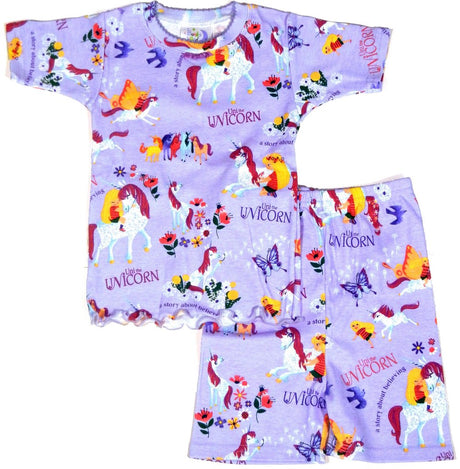 Uni the Unicorn Short Johns (Pajamas Only)