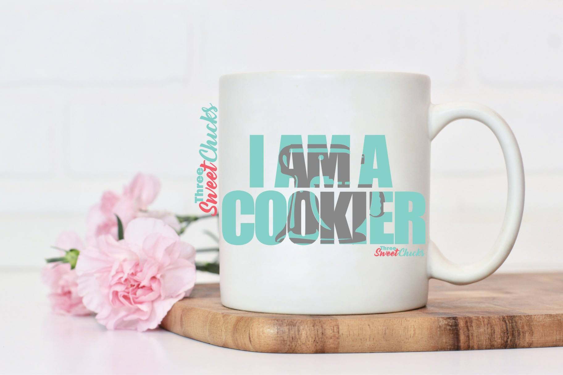 I am a Cookier Mug 11 oz mug Pre-Order March 8th*