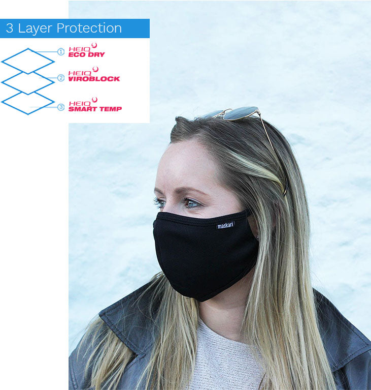 3 Layer Advanced Face Mask