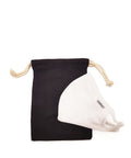 Black Face Mask Storage Pouch