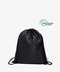 Black Drawstring rPET Gym Bag