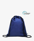 Navy Drawstring rPET Gym Bag