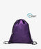 Purple Drawstring rPET Gym Bag