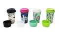 Travel Coffee Cups or Mugs with Fantastic printed desings. Another great sustainable product.