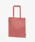 Red Recycled Cotton Bag