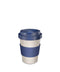 Natural & Navy Coffee Cup
