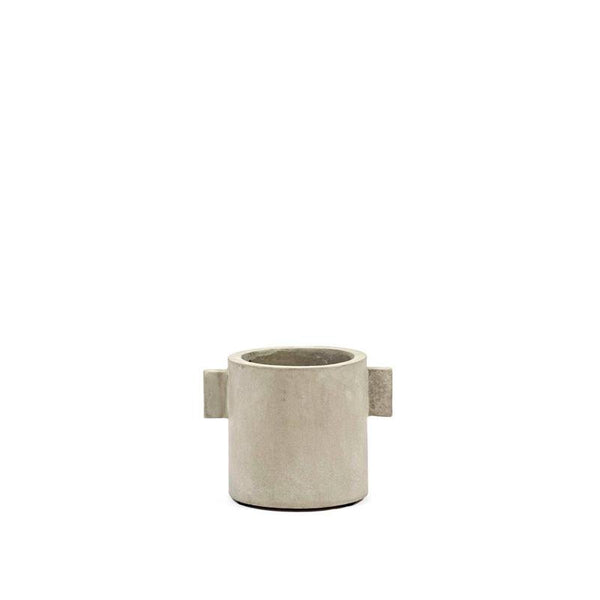 Pot Concrete Rond Naturel S 13x13