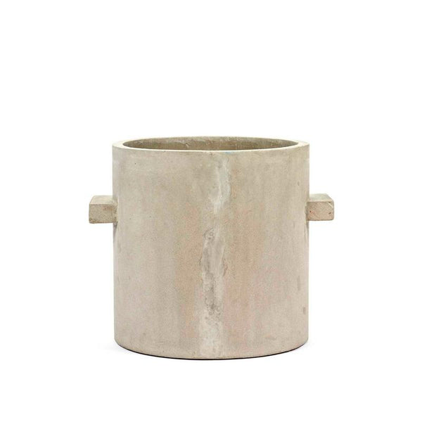 Pot Concrete Rond Naturel XXL 27x27