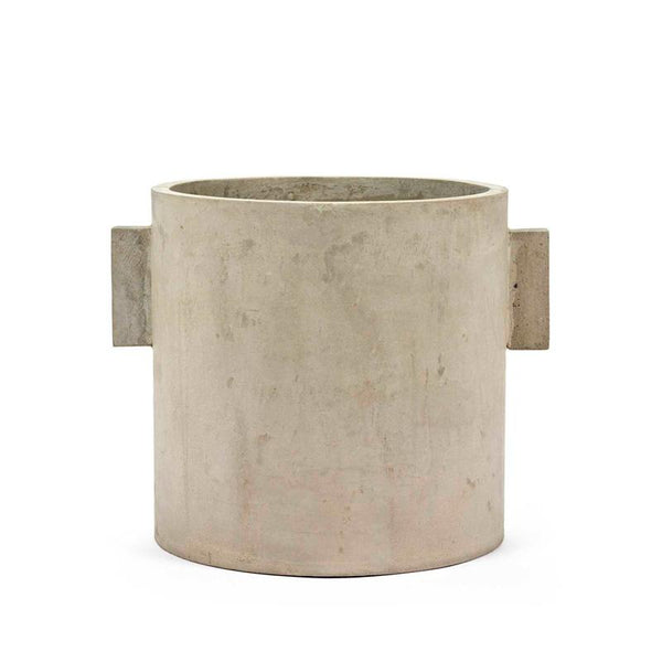 Pot Concrete Rond Naturel XXXL 30X30