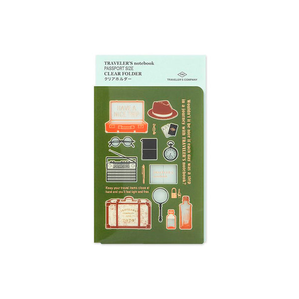 Traveler's Notebook Clear Folder 2020 - Passport Size