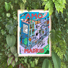 Load image into Gallery viewer, Amo Madrid 1 A4 Digital Print