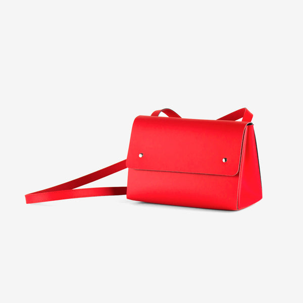 Triangle Bucket II Bag Red Oporto