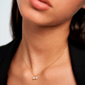 Velours Necklace Gold Plated