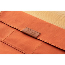 Load image into Gallery viewer, TRAVELER'S notebook B-Sides & Rarities Cotton Zipper Case Regular Size Orange