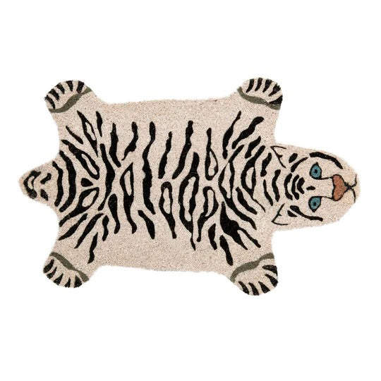 White Tiger Doormat