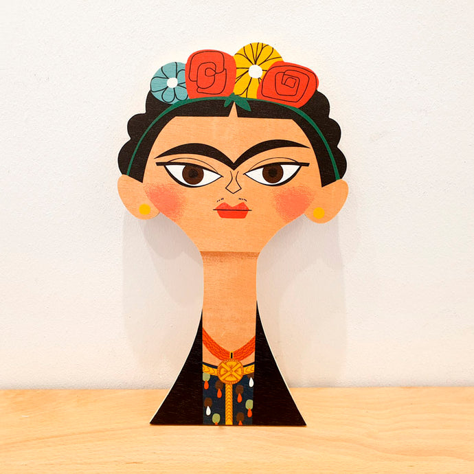 Egurrak 29 Frida Kahlo Decoración de pared