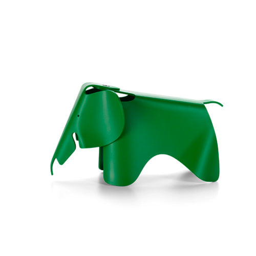 Eames Elephant Small Plastic Palm Green