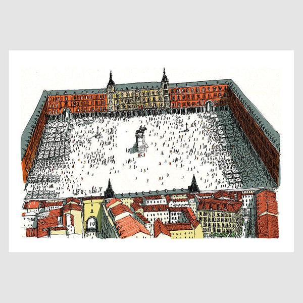 Plaza Mayor 50x70 Digital Print