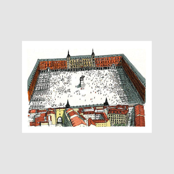Plaza Mayor A4 Digital Print