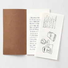 Load image into Gallery viewer, TRAVELER'S notebook B-Sides & Rarities Refill Letter Pad Regular Size