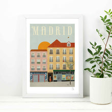 Load image into Gallery viewer, Madrid Print A4