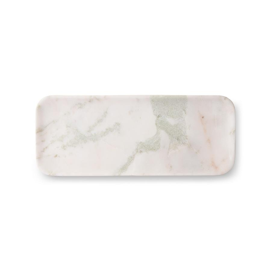 Marble Tray White/Green/Pink