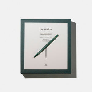 """My Resolute"" - Gift Set (Forest Green Ballpoint Pen)"