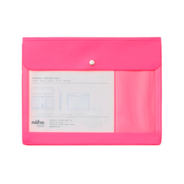 Nähe General Purpose Case A5 Neon Pink