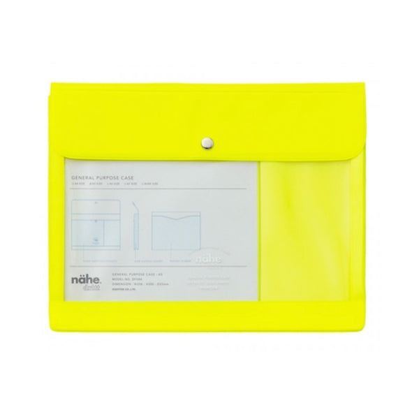 Nahe General Purpose Case A5 Neon Yellow